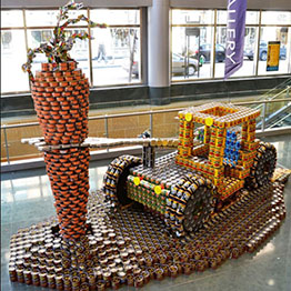 Read more about the article Canstruction Cincinnati:  A Behind the Scenes Look